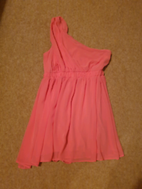 Coral Dress Ribbon Size 10