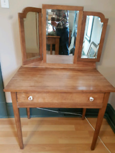 Antique dressing or makeup table
