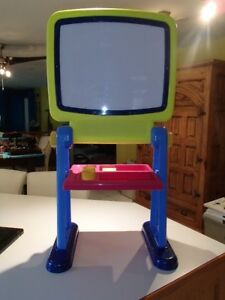 Double sided stand up easel