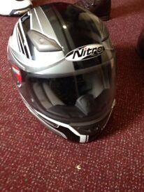 Nitro Reactor Motorcycle helmet