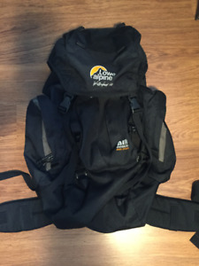 LOW ALPINE HEAVY DUTY CAMPING/HIKING BACKPACK
