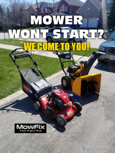 Mobile Lawn Mower Repair • Small Engine • Lawnmower