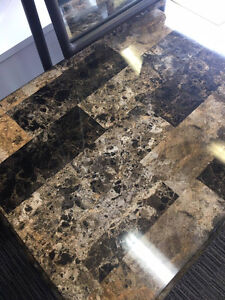Marbled Vanity Table Regina Regina Area image 3