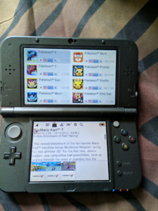 new Nintendo 3DS XL with CFW
