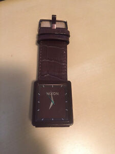 Nixon Women's Brown Leather The Portrait