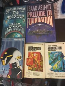 Issac Asimov Book Lot