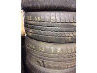 255/55/18 part worn tyres Coleraine