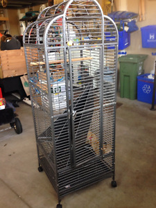 For Sale: Large Dome Top Bird Cage