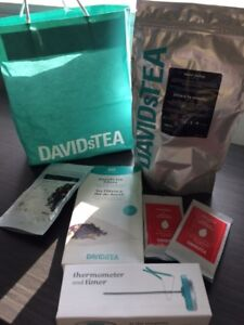 David's Tea Thermometer/Timer + over 350g of DT tea - brand new!