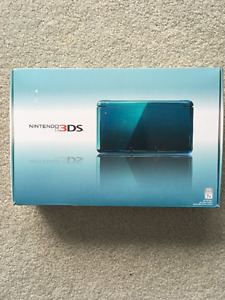 Blue 3ds with all original packaging.