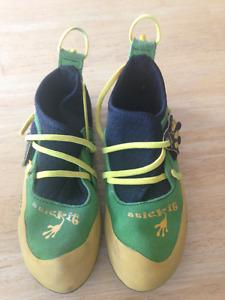 Kid's La Sportiva Stickit Climbing Shoes