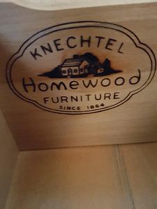 Vintage 1940s Art Deco Knechtel Homewood 8 Pc Diningroom Suite