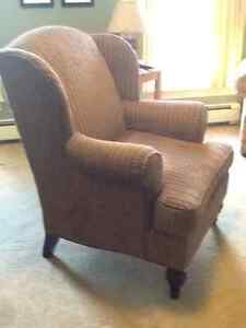 Wingback chair made by Flexsteel