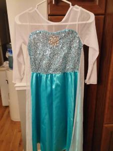Robe Elsa/costume/fille
