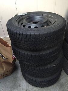 CONTINENTAL Winter Tires 195/60 R 15-92T Cambridge Kitchener Area image 1
