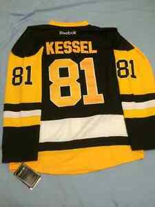 Brand NEW Phil Kessel Pittsburgh Penguin home jersey with tags