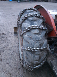 Tire chains. For 14.9× 24.