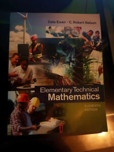 ELEMENTARY TECHNICAL MATHEMATICS TEXTBOOK (Eleventh Edition)