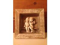 Cherub picture frame £10 ONO