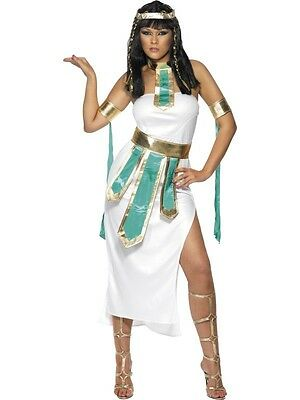 Womens Egyptian Costume Queen of the Nile Cleopatra Goddess Fancy Dress - Womens Cleopatra Costume