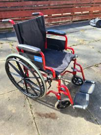 Aidapt self propelled wheelchair.