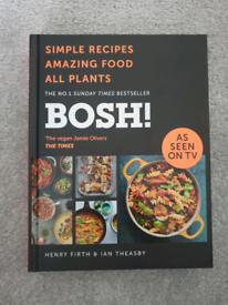 BOSH! Vegan cook book - brand new