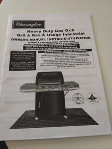 Charmglow bbq heavy duty gas grill