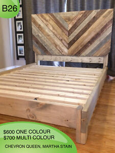RUSTIC HANDMADE CUSTOM BEDS - TWIN/FULL/QUEEN/KING