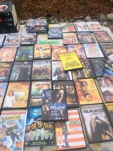 60 DVDs . Many great films
