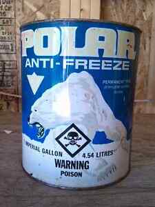 Collector Polar Antifreeze Can Never Opened One Gallon Belleville Belleville Area image 3