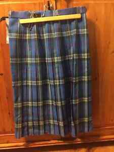 NWT Cotton Kilt