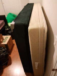 Queen Spring Bed Mattress WITH Boxspring