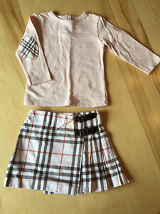 Ensemble Burberry 12 mois, robe billiblush 4 ans