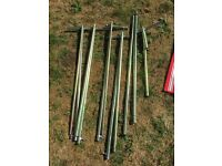 Caravan awning poles (assorted) starcamp