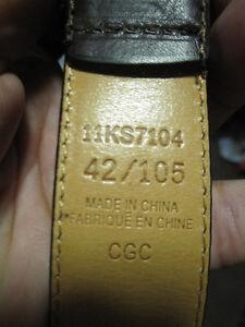 Assorted Men's Leather Belt, sizes 36, 38, 40, 42, Brown, Black Kitchener / Waterloo Kitchener Area image 7