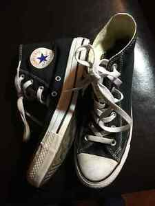 Black Converse All-Star Chuck Taylor Hi-Top Basketball Shoes Prince George British Columbia image 2