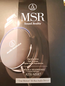ATH-MSR7 headphones. Great quality