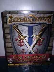 Forgotten Realms, The Archives Collection One, PC Game.