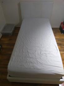 "2 X single 10"" memory foam mattresses"