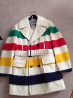 Hudson Bay men's wool coat