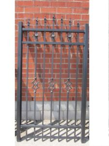 """ALUMINUM GATE 39 """" wide 6 ft high – Surplus Inventory – SAVE 60%"""