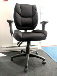 Fabric Office Chair, Adjustable