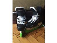 Bauer supreme one .4 ice hockey skates size 8.5