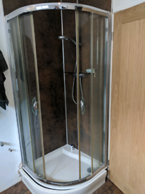 Free shower cubicle & tray