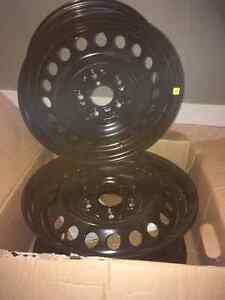 Steel Rims Size 15 x 6.5..$130 for all 4. Price Negotiable! London Ontario image 2