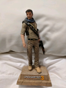 Uncharted 3 Collectors Edition Statue