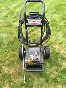Pressure Washer pump, stand, hose and nozzles