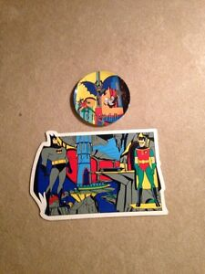 Batman plate and placemat