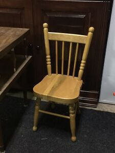 Kids size chair - solid wood