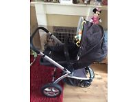 My4 Mothercare travel system REDUCED